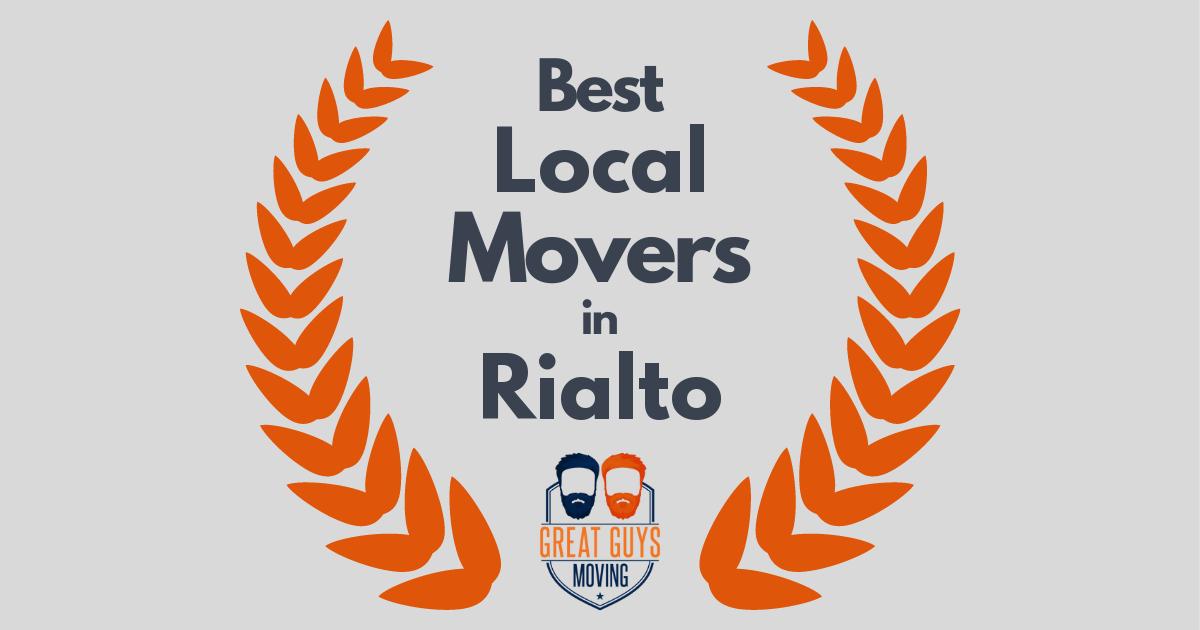 Best Local Movers in Rialto, CA