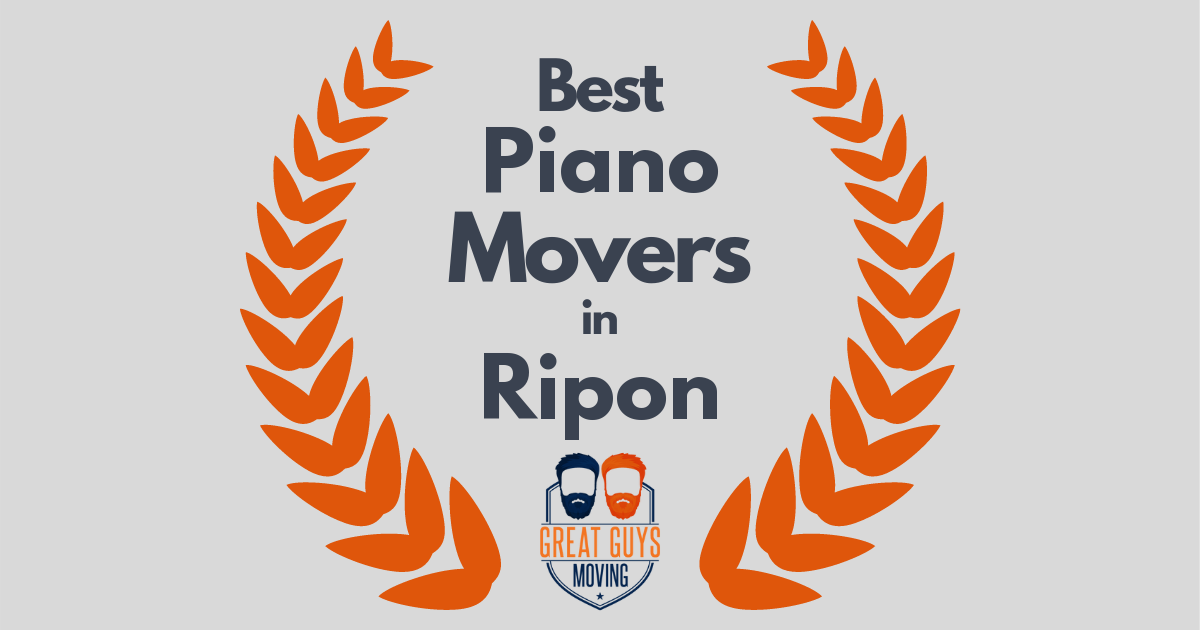 Best Piano Movers in Ripon, CA