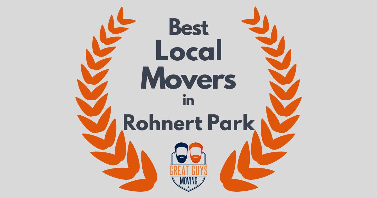 Best Local Movers in Rohnert Park, CA