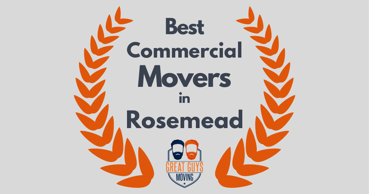 Best Commercial Movers in Rosemead, CA