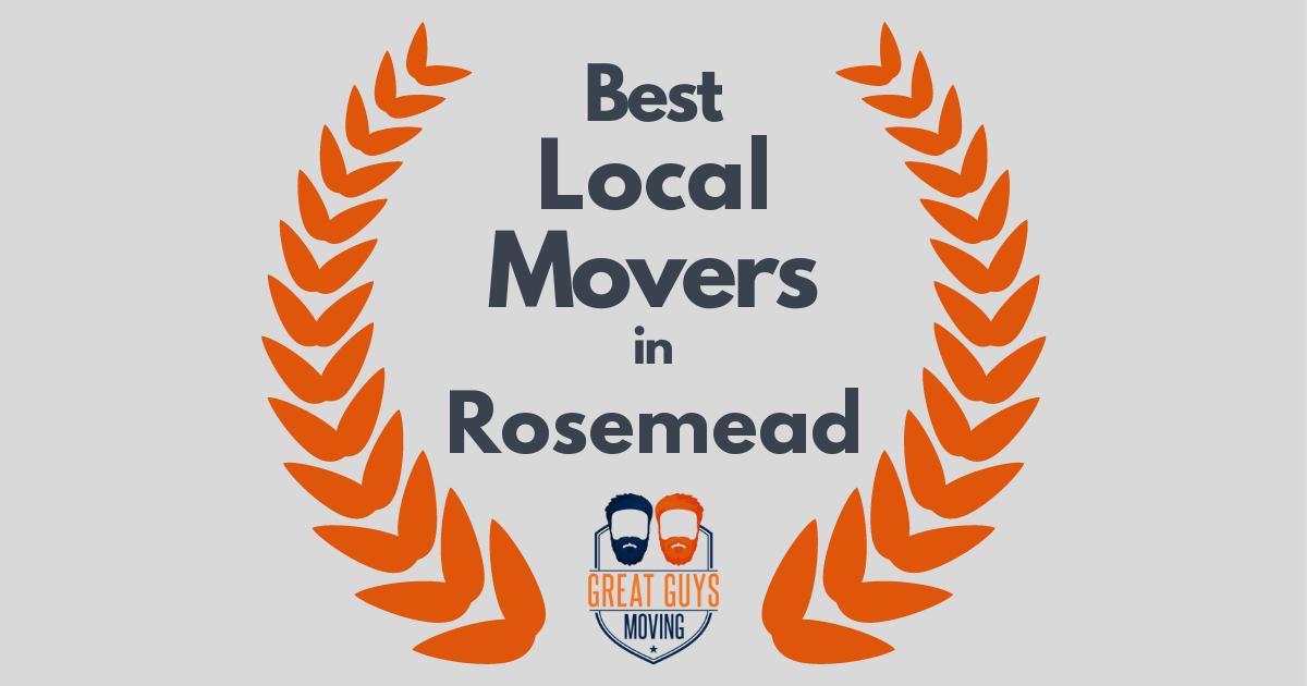 Best Local Movers in Rosemead, CA