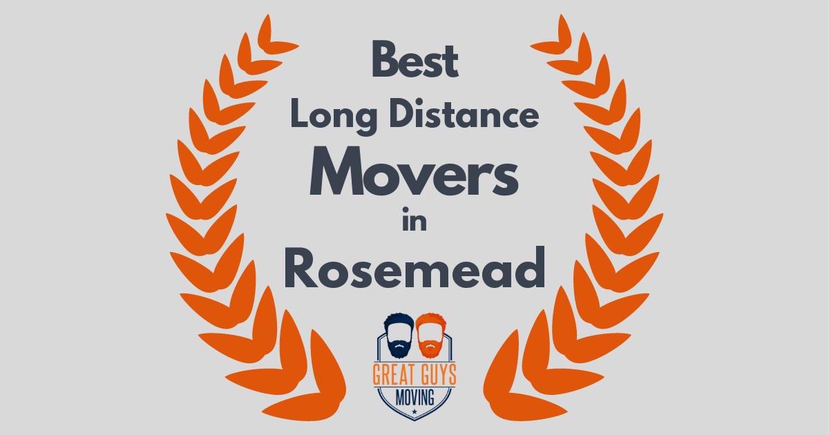 Best Long Distance Movers in Rosemead, CA