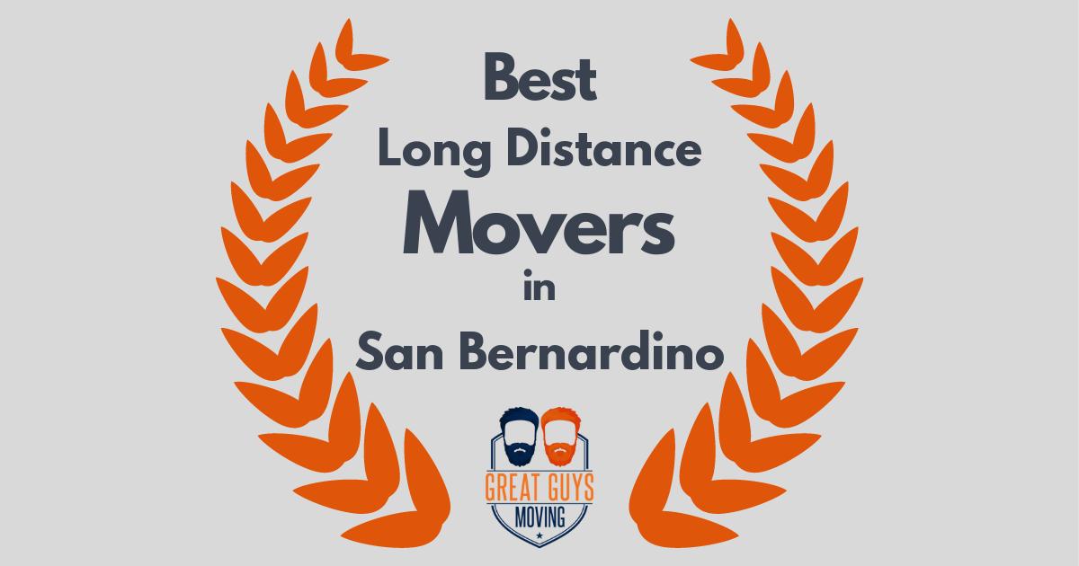 Best Long Distance Movers in San Bernardino, CA