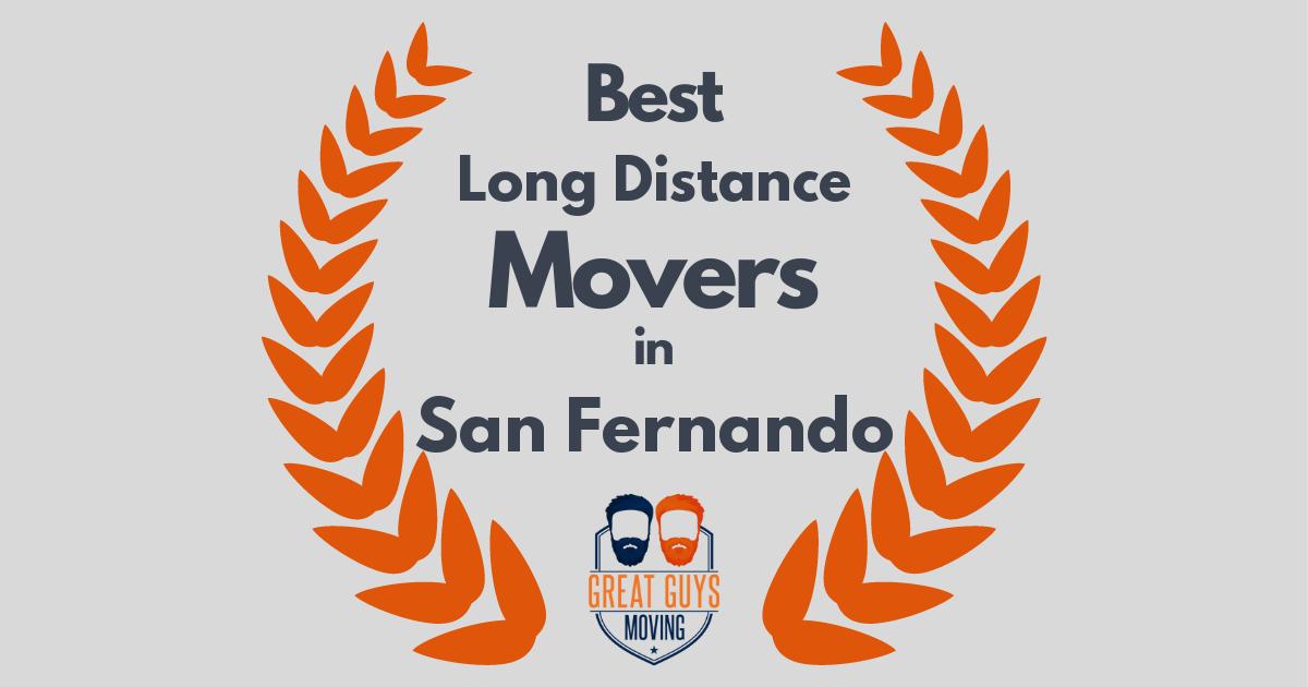 Best Long Distance Movers in San Fernando, CA