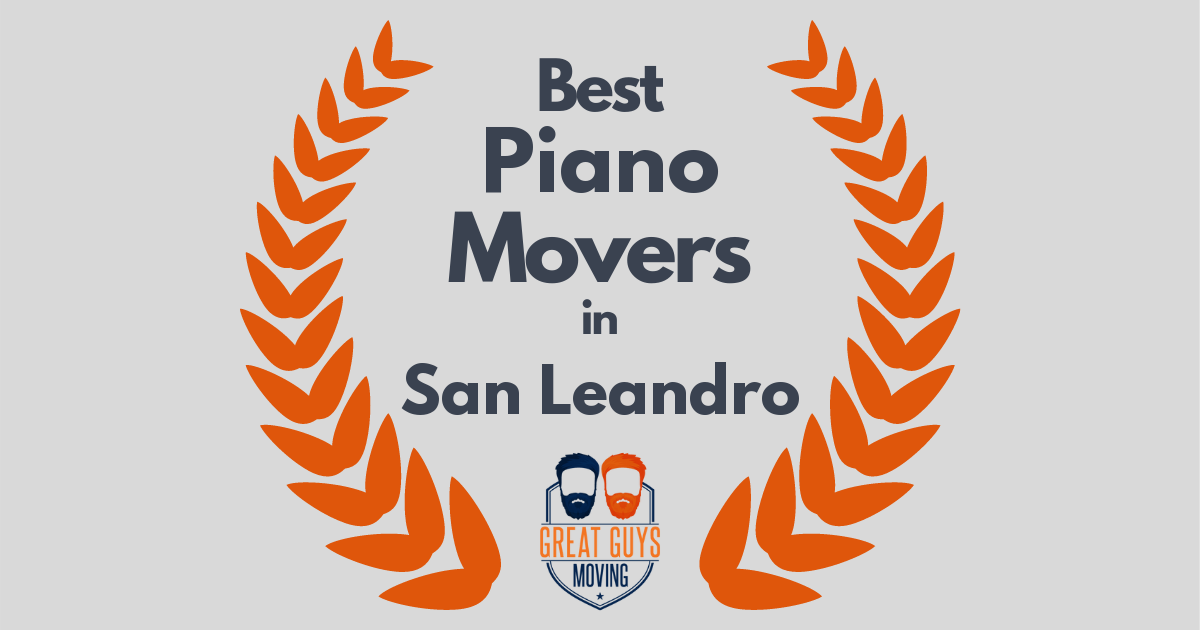 Best Piano Movers in San Leandro, CA