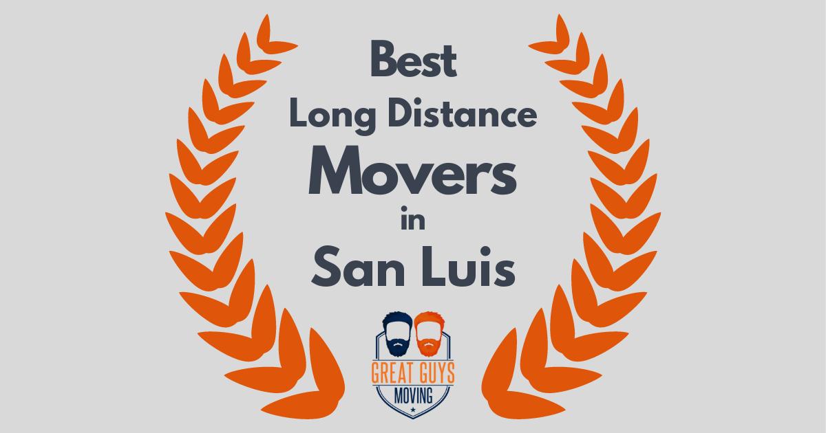 Best Long Distance Movers in San Luis, AZ