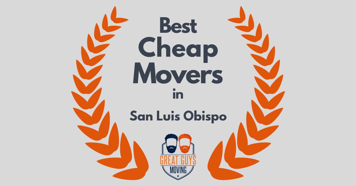 Best Cheap Movers in San Luis Obispo, CA