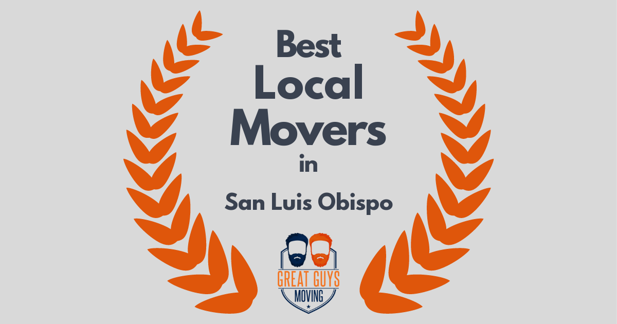 Best Local Movers in San Luis Obispo, CA
