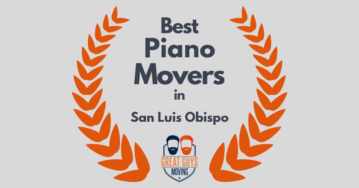 Best Piano Movers in San Luis Obispo, CA