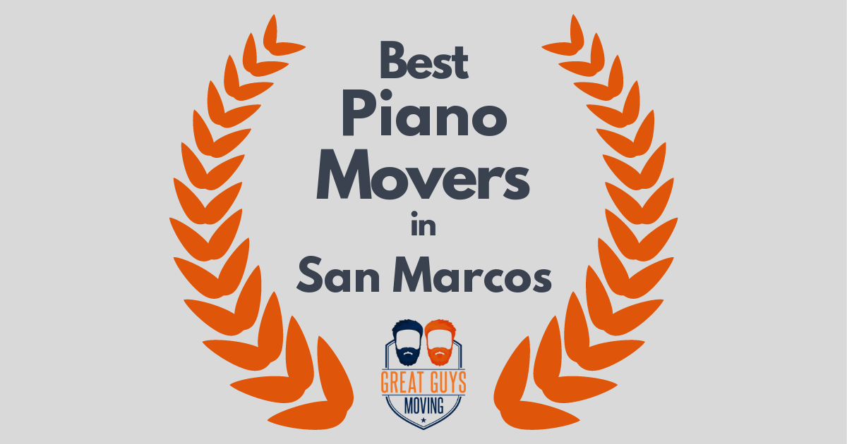 Best Piano Movers in San Marcos, CA