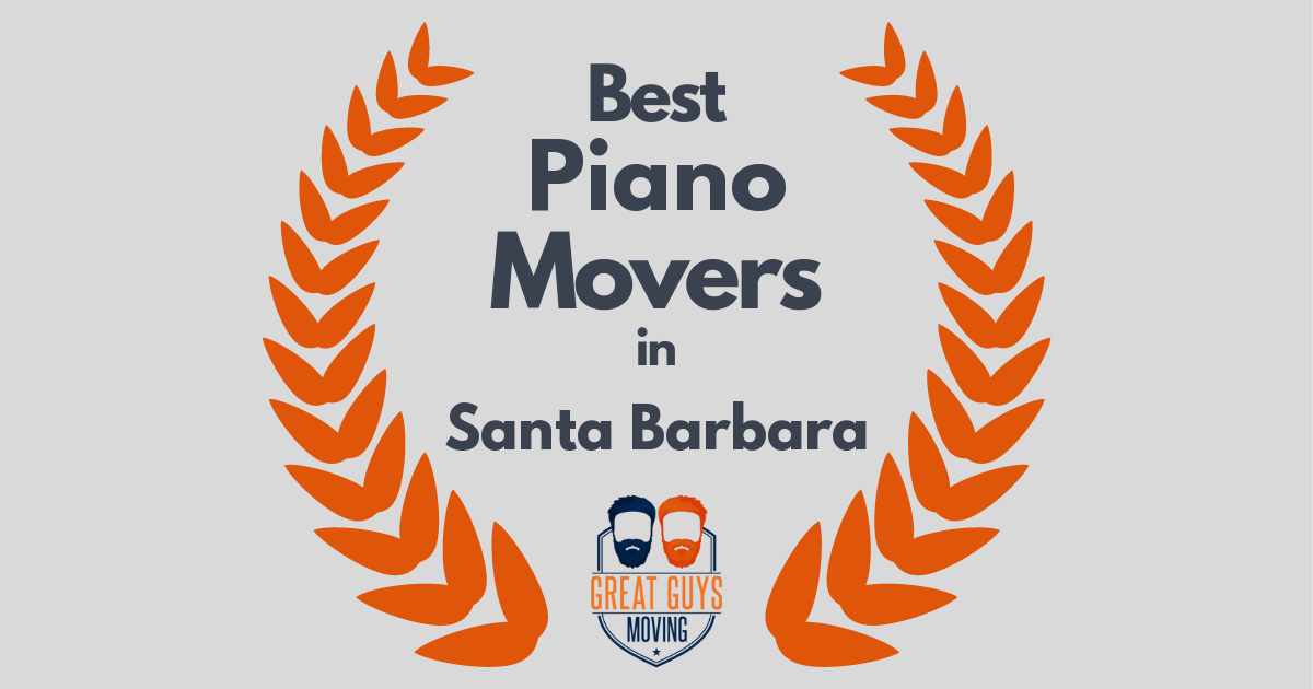 Best Piano Movers in Santa Barbara, CA