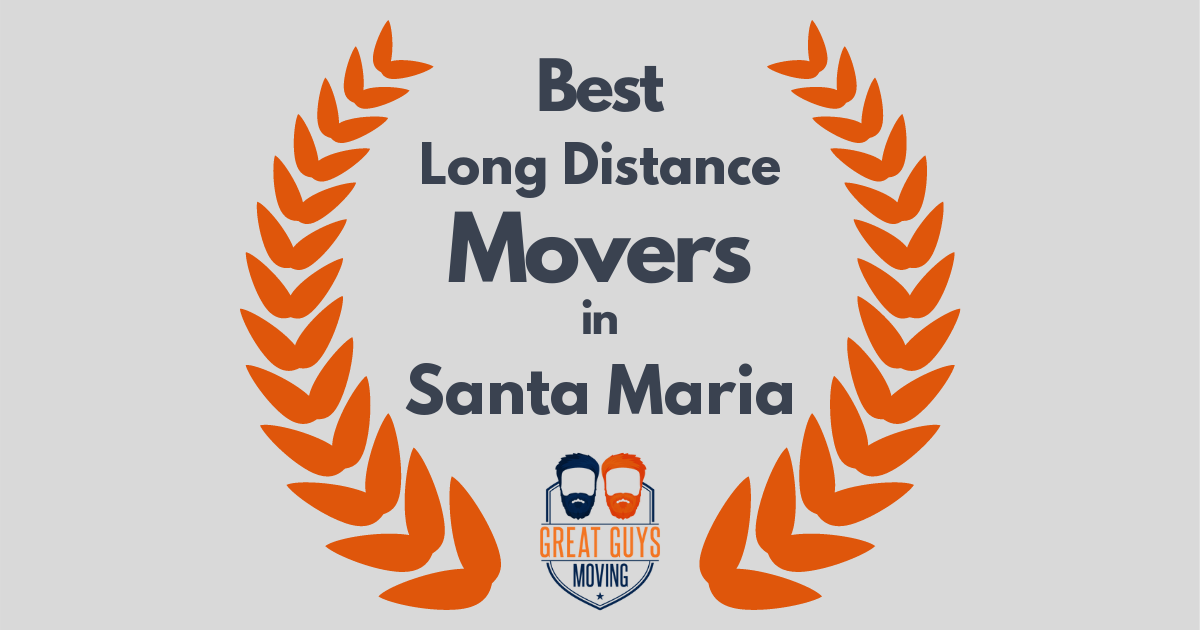 Best Long Distance Movers in Santa Maria, CA