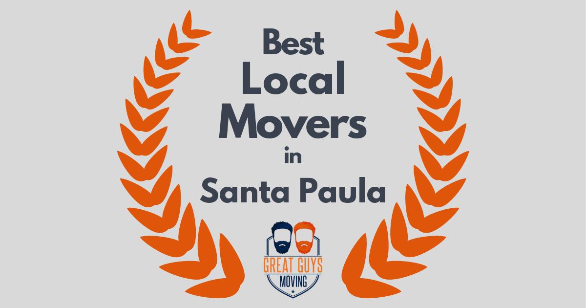 Best Local Movers in Santa Paula, CA
