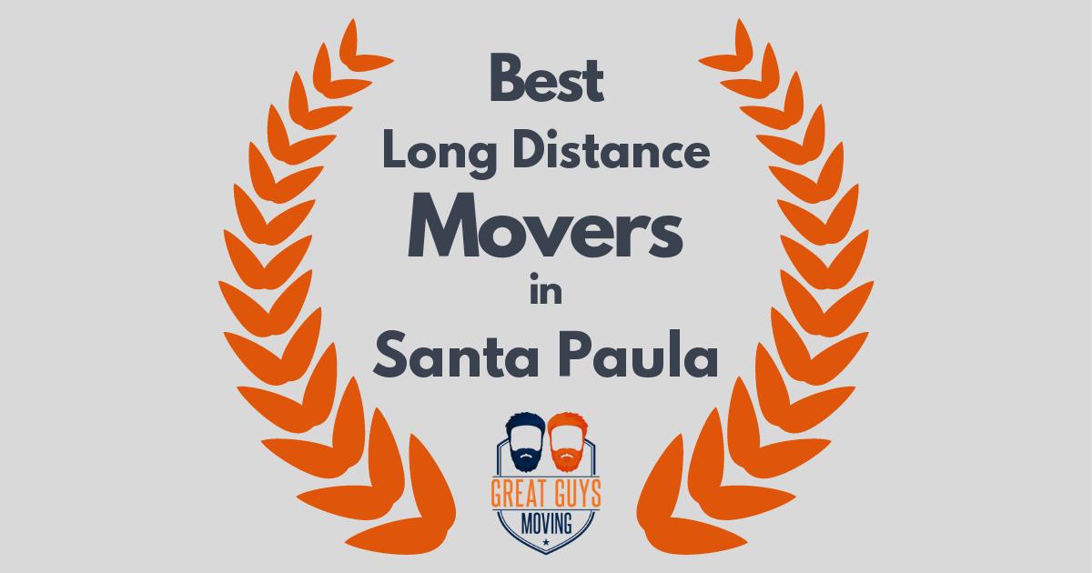 Best Long Distance Movers in Santa Paula, CA