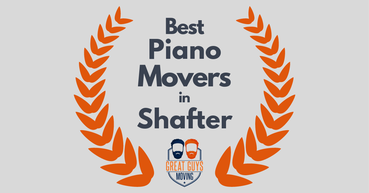 Best Piano Movers in Shafter, CA