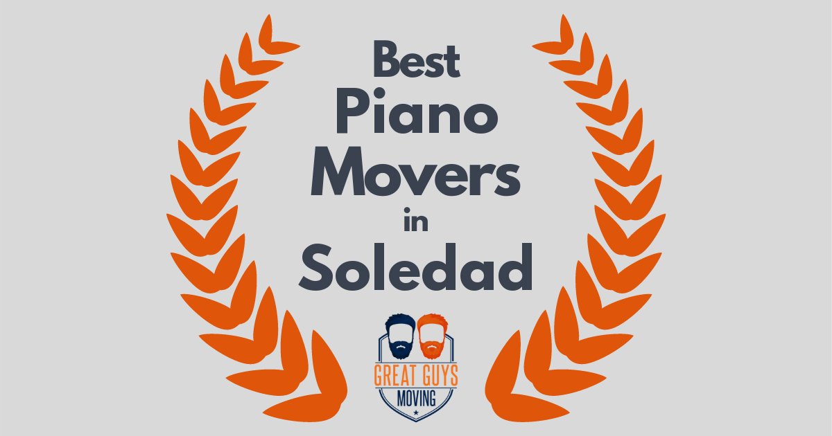 Best Piano Movers in Soledad, CA