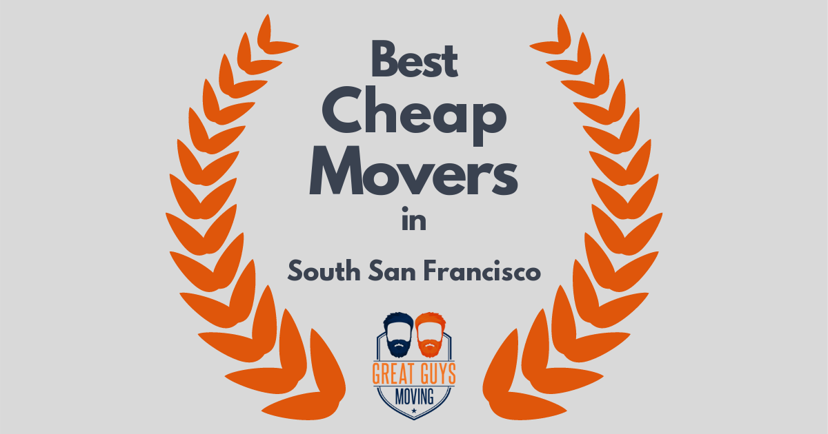 Best Cheap Movers in South San Francisco, CA