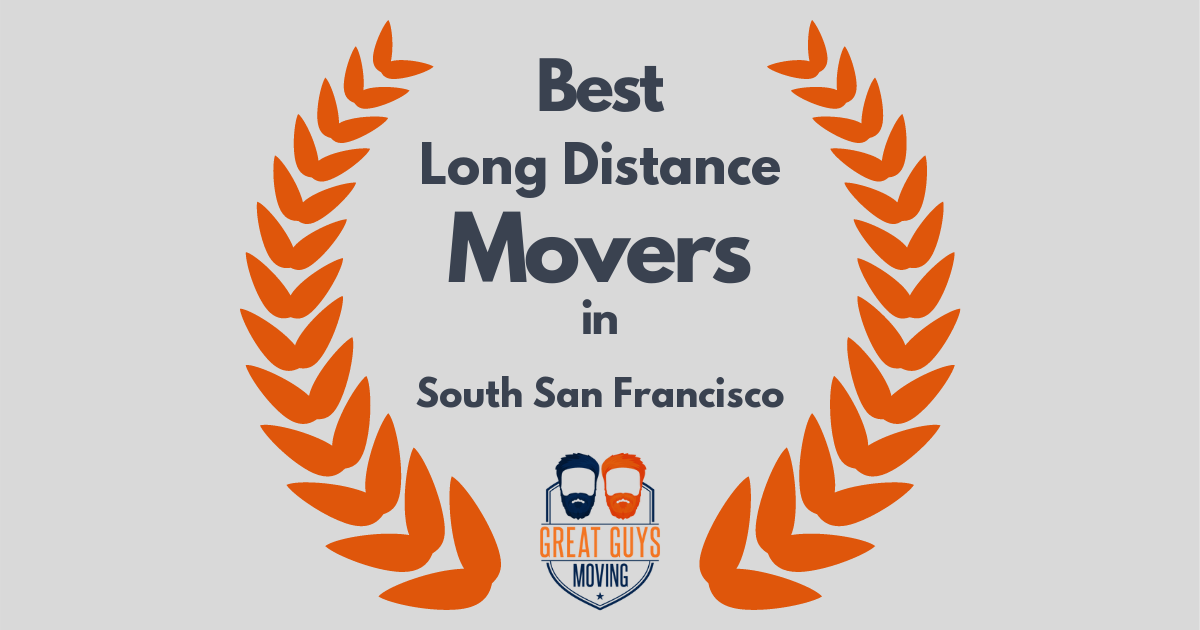 Best Long Distance Movers in South San Francisco, CA