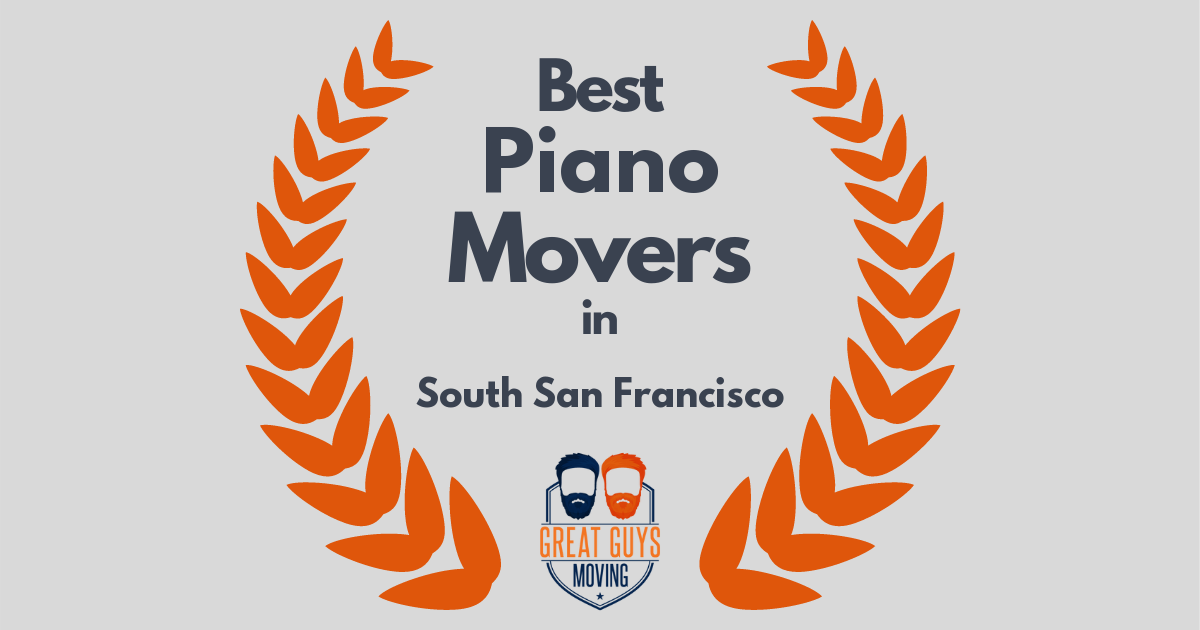 Best Piano Movers in South San Francisco, CA