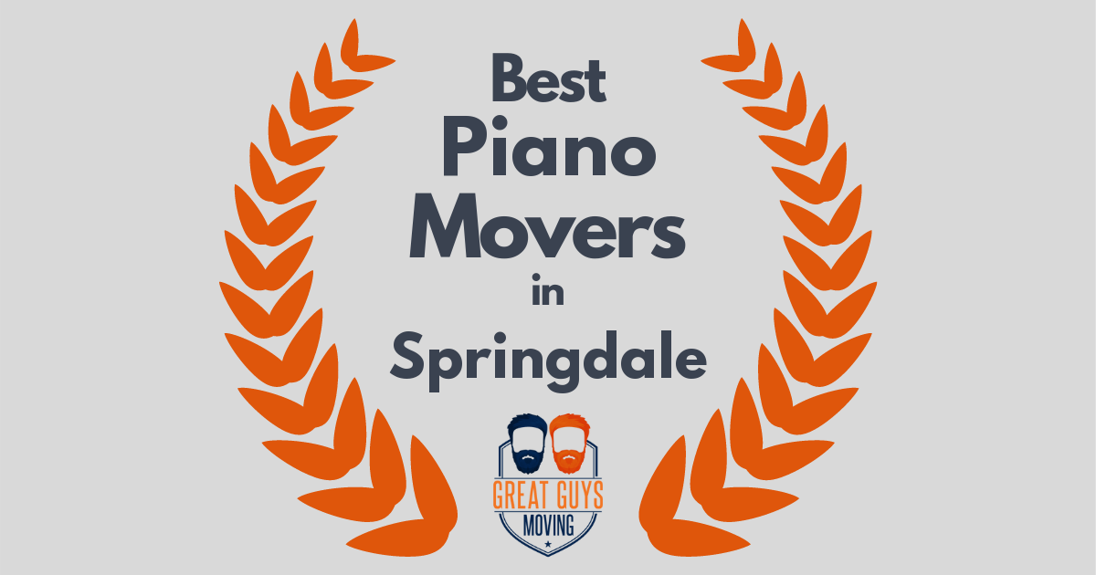 Best Piano Movers in Springdale, AR
