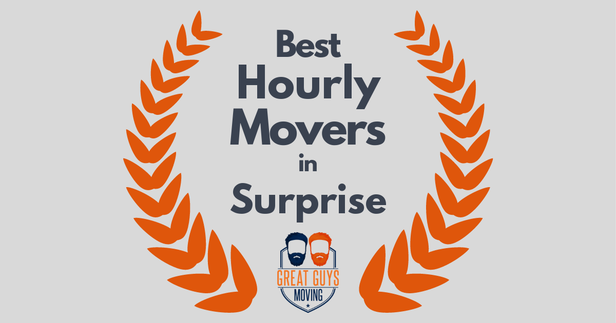 Best Hourly Movers in Surprise, AZ