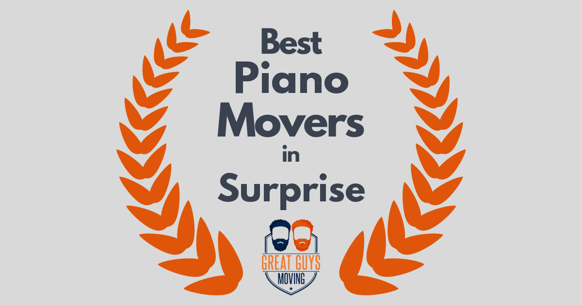 Best Piano Movers in Surprise, AZ