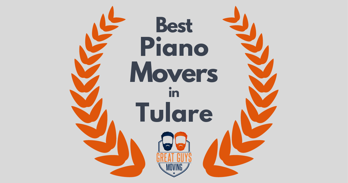 Best Piano Movers in Tulare, CA
