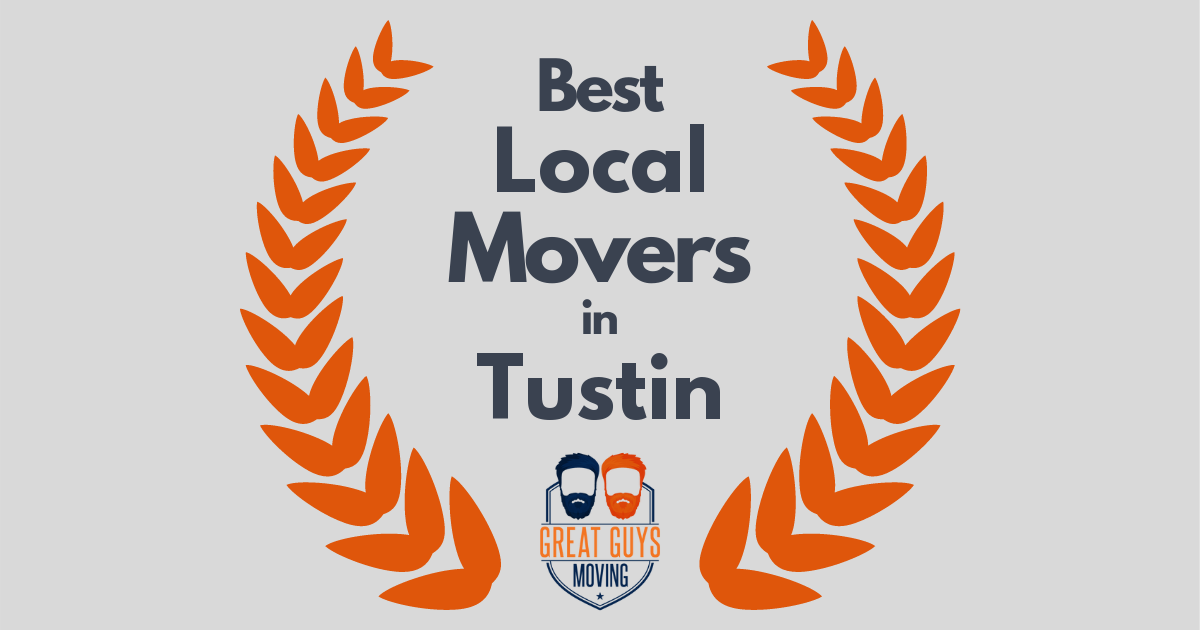 Best Local Movers in Tustin, CA