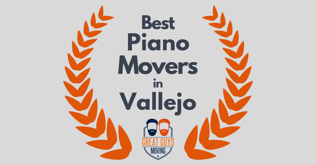 Best Piano Movers in Vallejo, CA