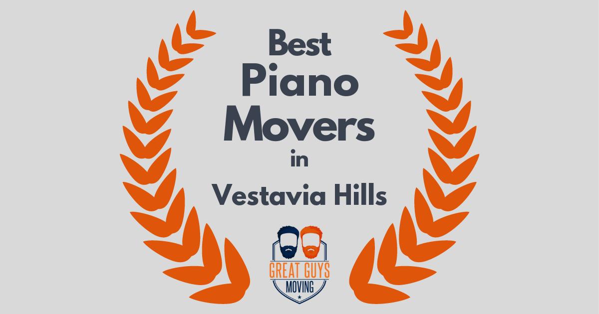 Best Piano Movers in Vestavia Hills, AL