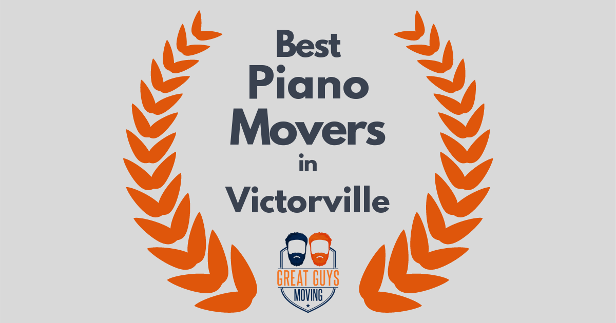 Best Piano Movers in Victorville, CA