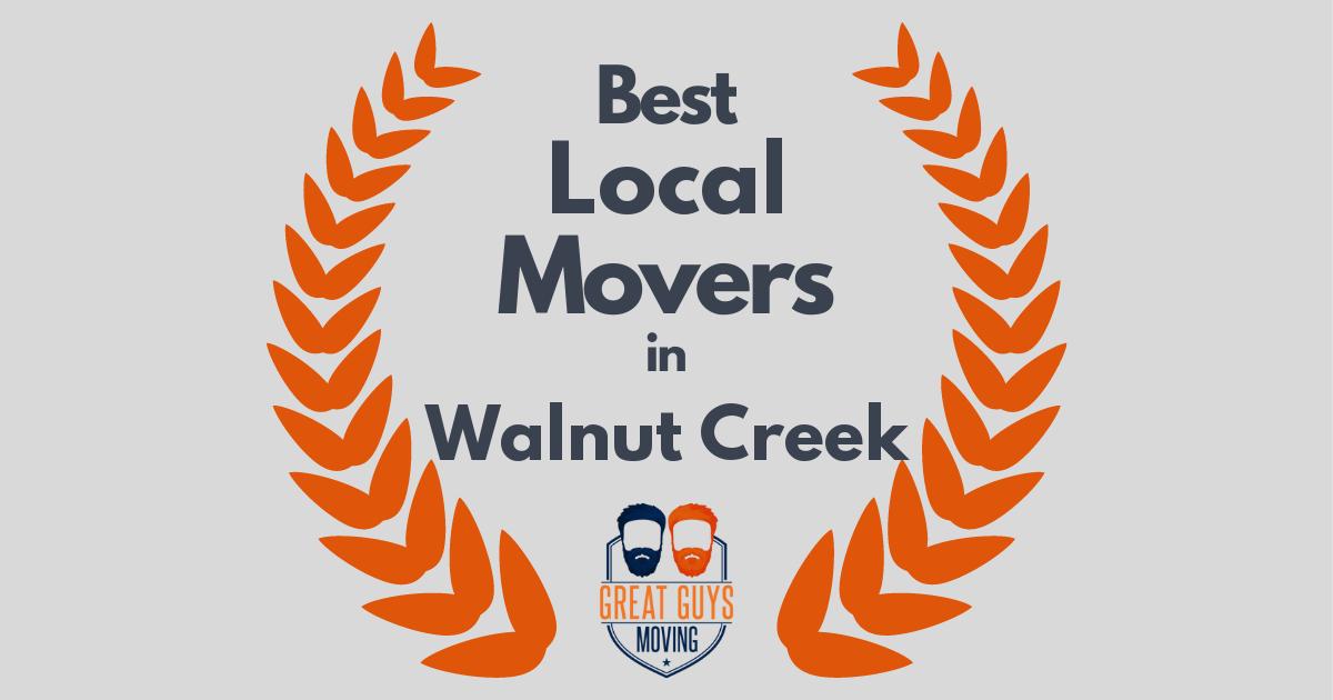 Best Local Movers in Walnut Creek, CA