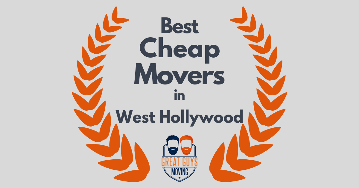 Best Cheap Movers in West Hollywood, CA