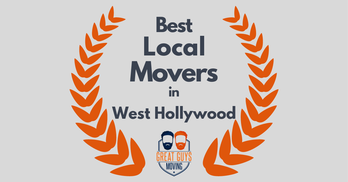 Best Local Movers in West Hollywood, CA