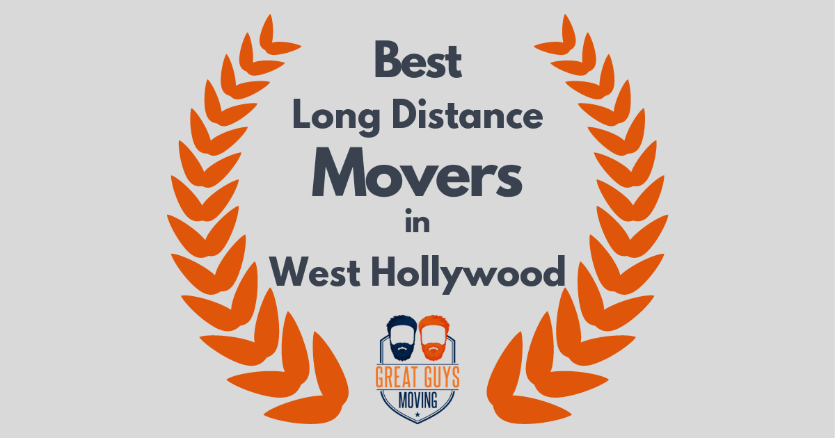 Best Long Distance Movers in West Hollywood, CA