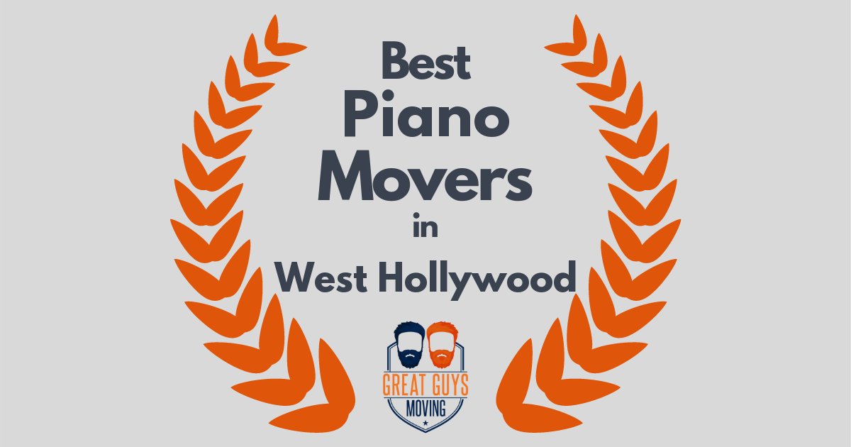 Best Piano Movers in West Hollywood, CA