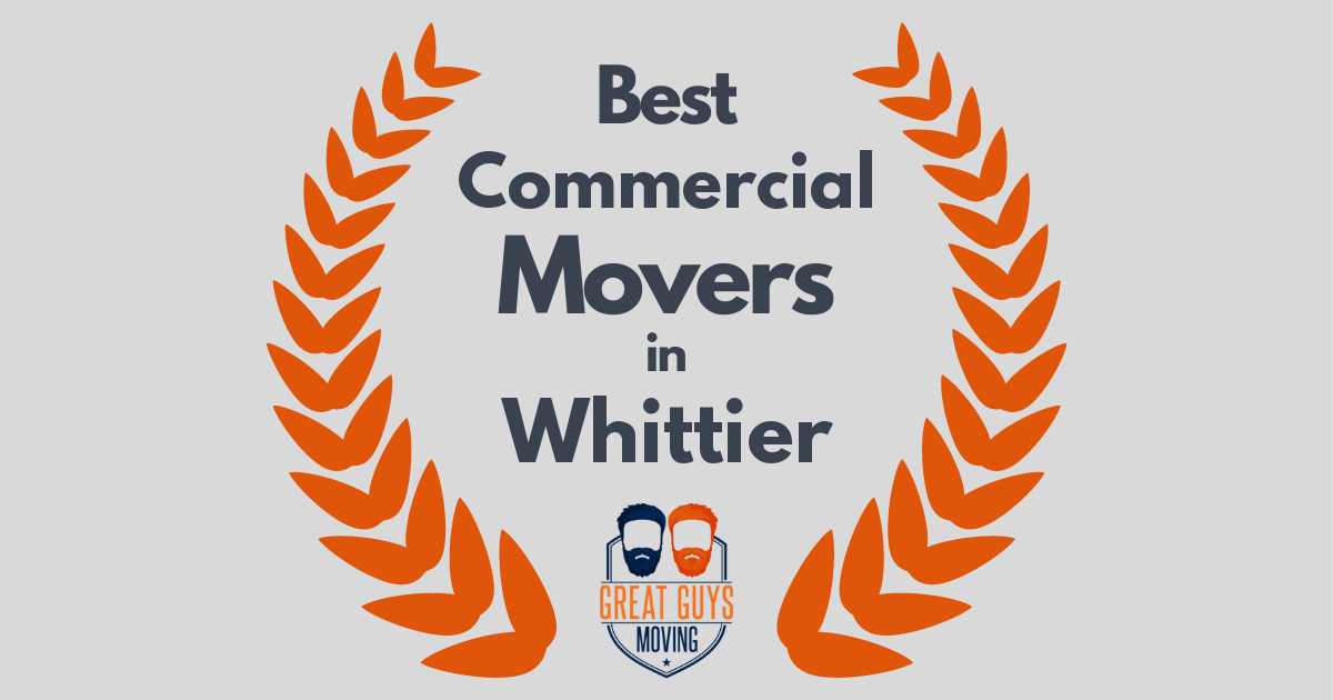 Best Commercial Movers in Whittier, CA