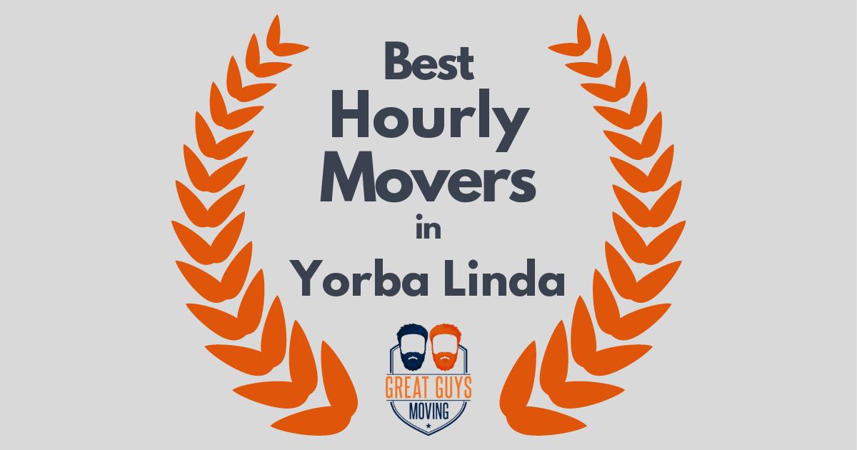 Best Hourly Movers in Yorba Linda, CA