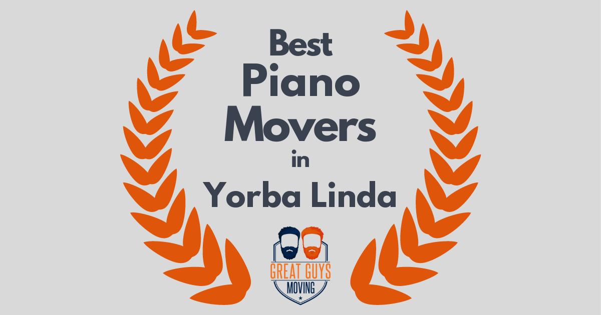 Best Piano Movers in Yorba Linda, CA