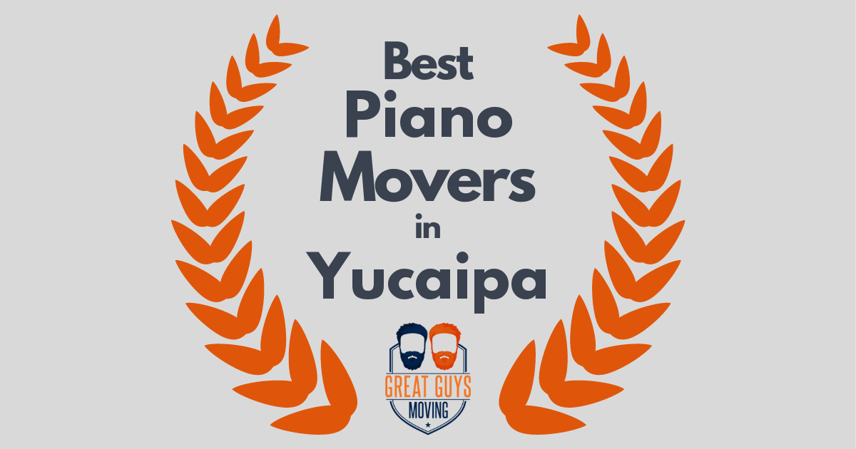 Best Piano Movers in Yucaipa, CA