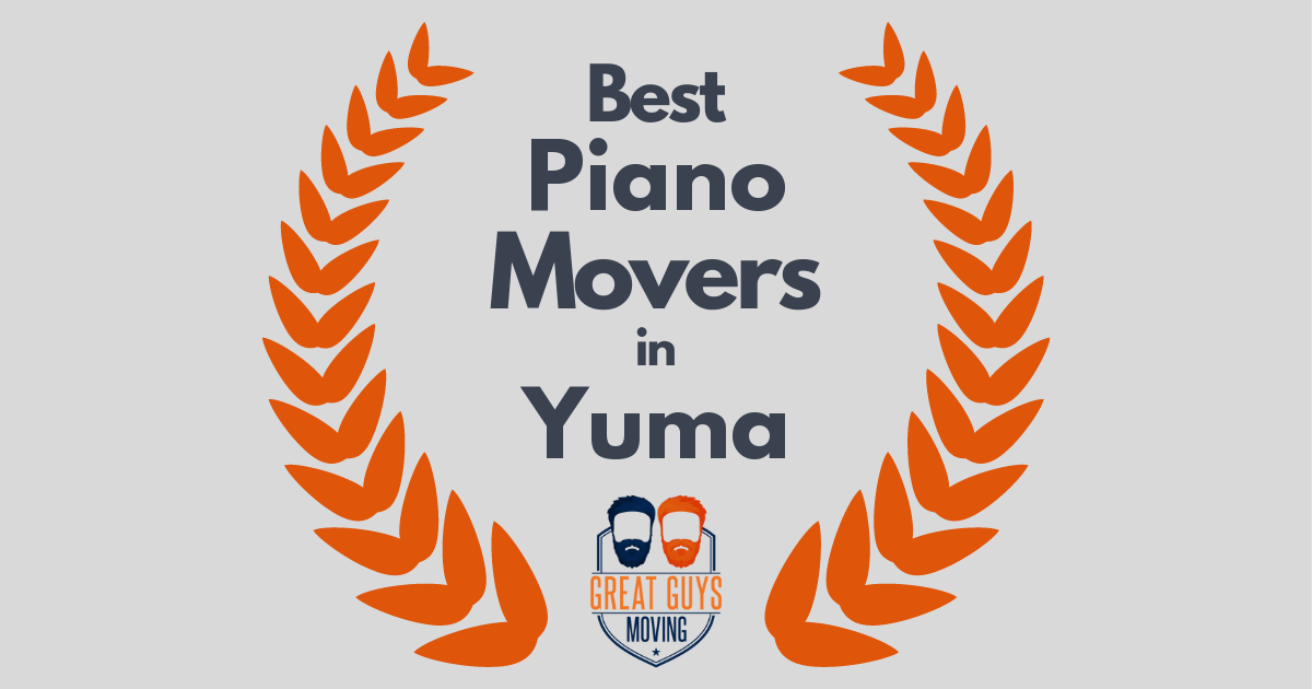 Best Piano Movers in Yuma, AZ